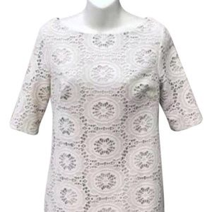 Adrianna Papell Floral Lace Dress Size 12
